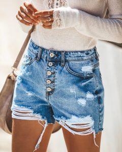 Los pantalones cortos te hacen ver a la moda