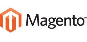 Logo de Magento fondo transparente